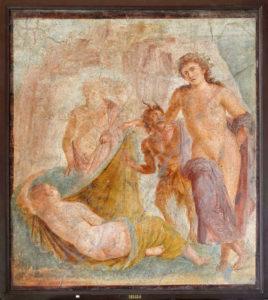 Bacchus-Ariane-fresque-fresco-Museo-Archeologico-Nazionale-di-Napoli